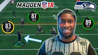 RUSSELL WILSON MIGHT LOWKEY BE THE MVP! SEAHAWKS MAKING THE PLAYOFFS? Madden 18 Online H2H