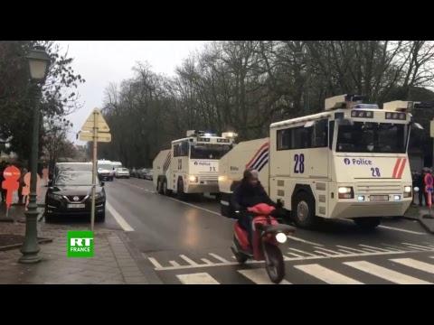 Des affrontements ont éclaté à Bruxelles lors de la Marche contre le pacte de Marrakech