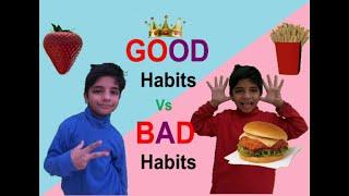 Good Habits Vs Bad Habits   Fun WIth Anagh Aadriti   #FUN #Stories #Moral