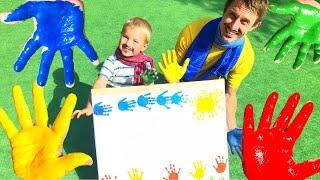 Песенка для детей - Учим Цвета   Развивающее видео для самых маленьких