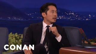 "How Steven Yeun's ""Walking Dead"" Fame Helped His Colonoscopy  - CONAN on TBS"