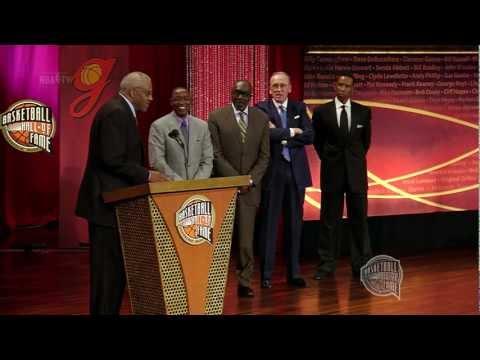 Chet Walker's Basketball Hall of Fame Enshrinement Speech