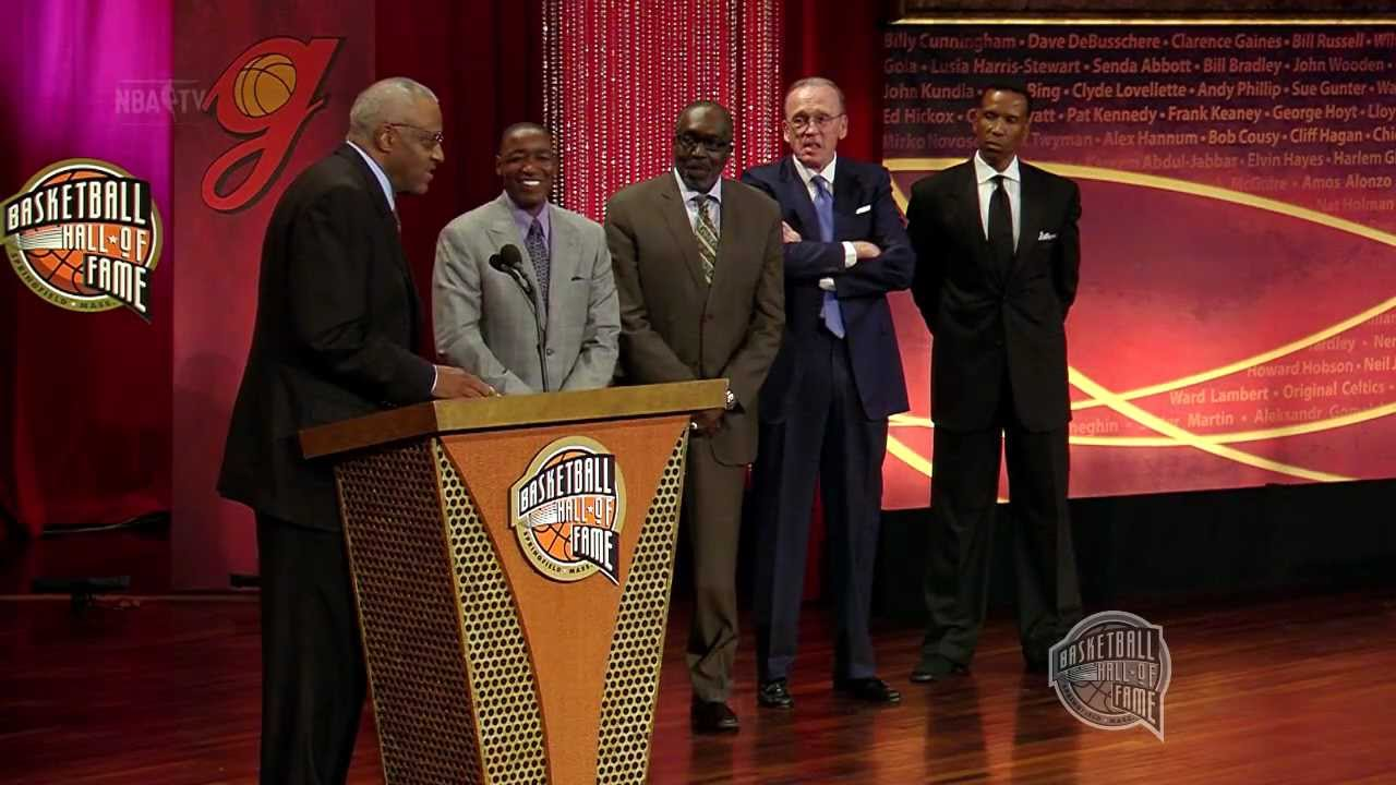 Chet Walker s Basketball Hall of Fame Enshrinement Speech