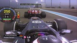 F1  Abu Dhabi 2013  Fernando Alonso VS  Nico Hulkenberg Epic  OnBoard Action