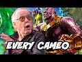 Avengers Infinity War - Every Stan Lee Cameo Trailer Breakdown