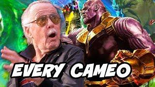Avengers Infinity War - Every Stan Lee Cameo Scene