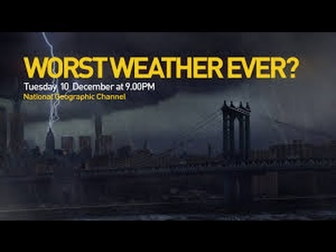 SUNY SFLK's Prof. Scott Mandia on National Geographic Worst Weather Ever