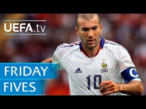 Zidane, Bergkamp, Del Piero: 5 Great No10s
