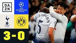 BVB geht im Wembley unter: Tottenham Hotspur - Borussia Dortmund 3:0 | UEFA Champions League | DAZN
