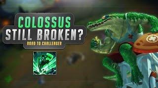 Colossus NERFED! Still BROKEN? - Renekton Top Season 7! - Road to Challenger #2