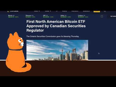 First Bitcoin ETF Approved in North America: Bitcoin BTC Price Prediction 2021