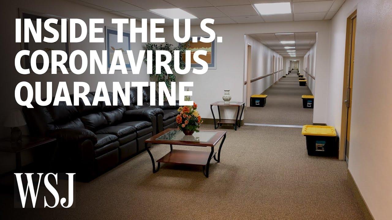 Inside the U.S. Coronavirus Quarantine   WSJ - YouTube