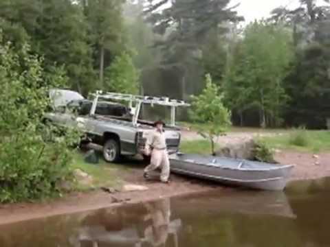 Motorized Boat Rack Loader Youtube