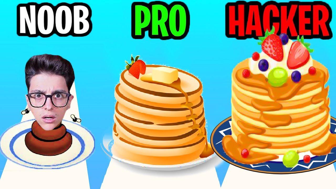 INGRANDIAMO IL PANCAKE PIÙ ENORME MANGIANDO DI PIÙ!! Pancake Run 3D