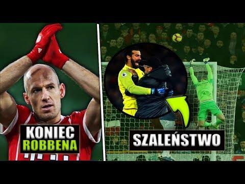 SZALEŃSTWO w Derbach Liverpoolu.. Koniec Robbena w Bayernie..
