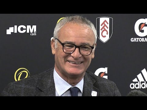 Claudio Ranieri Gives First Press Conference As Fulham Boss