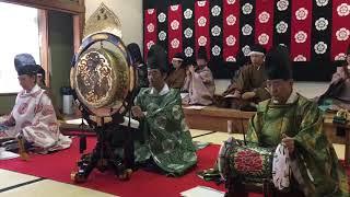 管絃 平調 陪臚 第4回 津島で雅楽演奏会