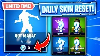 This Emote Costs 0 V-BUCKS! Fortnite Item Shop! Daily & Featured Items! (Skin Reset #288)