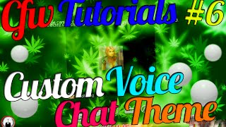 CFW Tutorials #6 | How To Get Custom Video Chat Room Themes ! ( Weed,MW2,Anonymous )