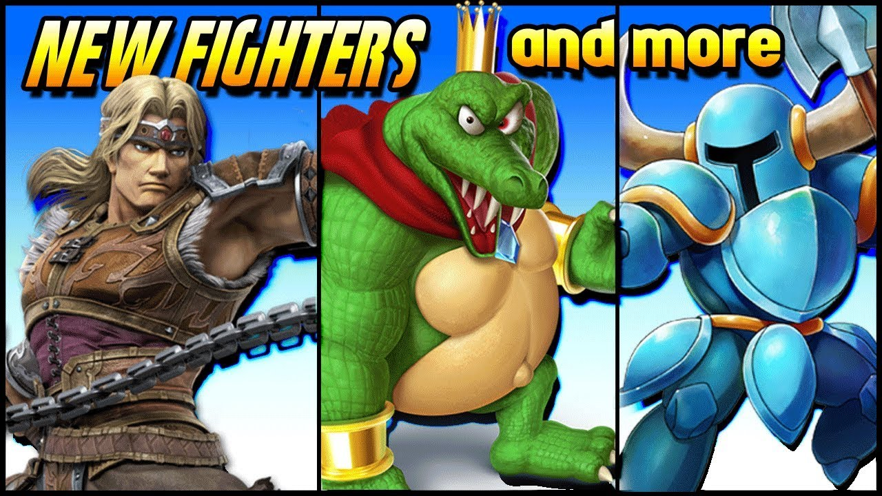 KING K ROOL!!! SHOVEL KNIGHT IN SMASH?! | The Shidazzle Show [videogame news]