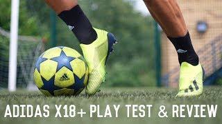 Adidas X18+ Team Mode Pack | Play Test and Review