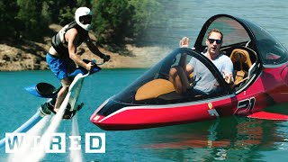 Test Driving Extreme Watercraft | OOO With Brent Rose | WIRED
