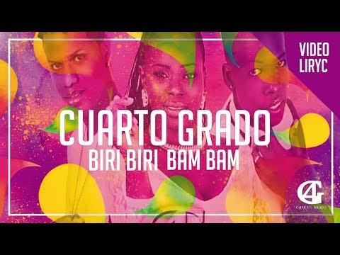 CUARTO GRADO BIRI BIRI BAM BAM FT GUSTAVO ENRIQUE (Lyric Vídeo) ( Letra ) - [  Audio Official ] ®
