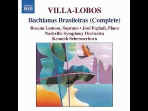 Bachianas Brasileiras, No. 4 for piano (1930-41) - orch. in 1941, II. Coral (Canto do Sertão)