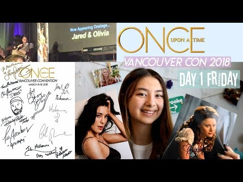 OUAT Vancouver Convention 2018 | Day 1 Friday | Holographic Rainbows
