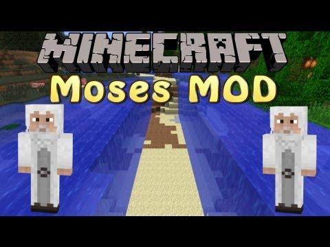 Minecraft Mod Spotlight - Moses Mod