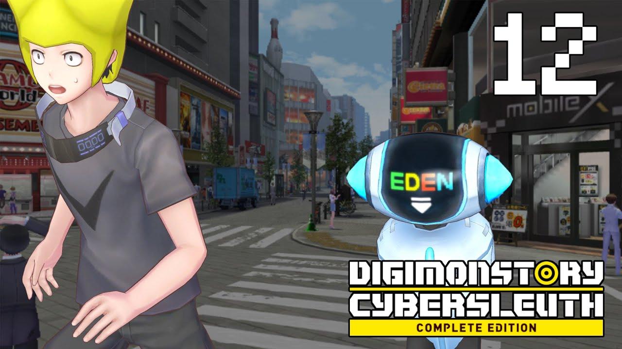 Digimon Story: Cyber Sleuth Hacker's Memory พาร์ท12 อย่าตามฉันมา!!