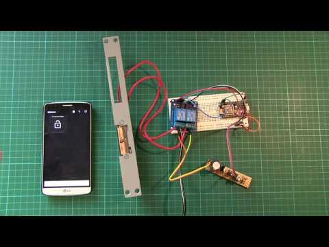 Ouvrir une porte avec un smartphone doovi for Ouverture porte de garage avec smartphone
