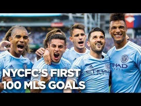 GOALS | NYCFC's First 100 MLS Goals