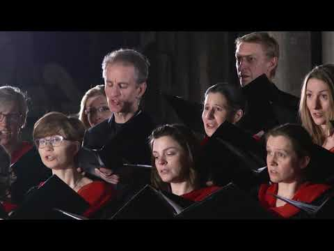 Drop, drop, slow tears (Gibbons) The Cambridge Chorale at Ely Cathedral