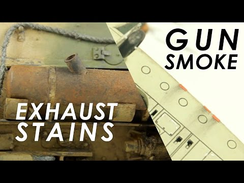 Creating Realistic Exhaust Stains and Gun Smoke