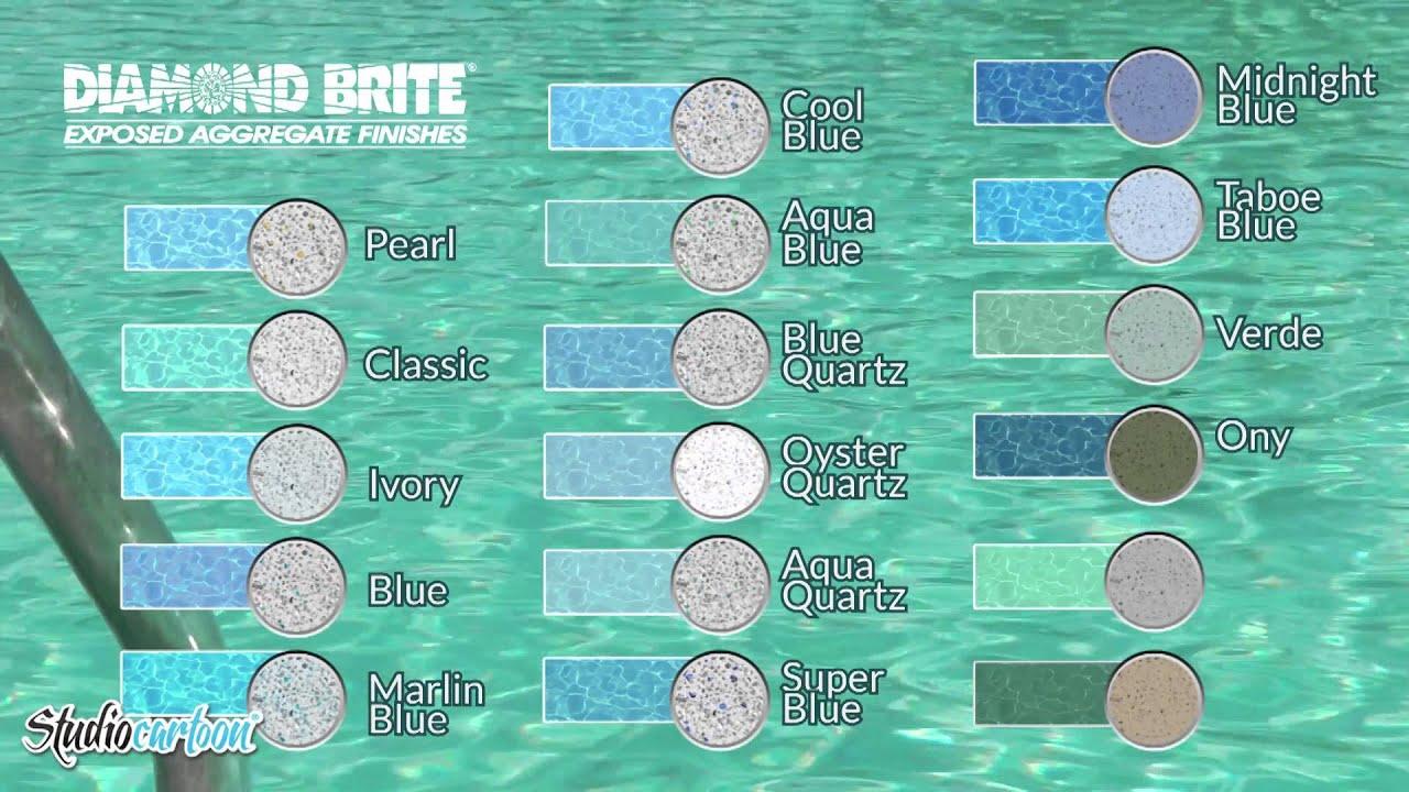 grupo oceanic diamond brite - Diamond Brite Pool Colors