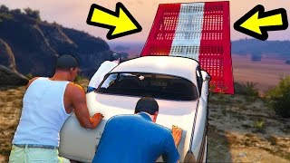 BEATING GTA 5 WITH A NEW ENDING secret ending