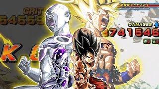 QUANTI ONE SHOT! GOKU E FREEZER LR SONO FORTISSIMI! Dragon Ball Z Dokkan Battle ITA