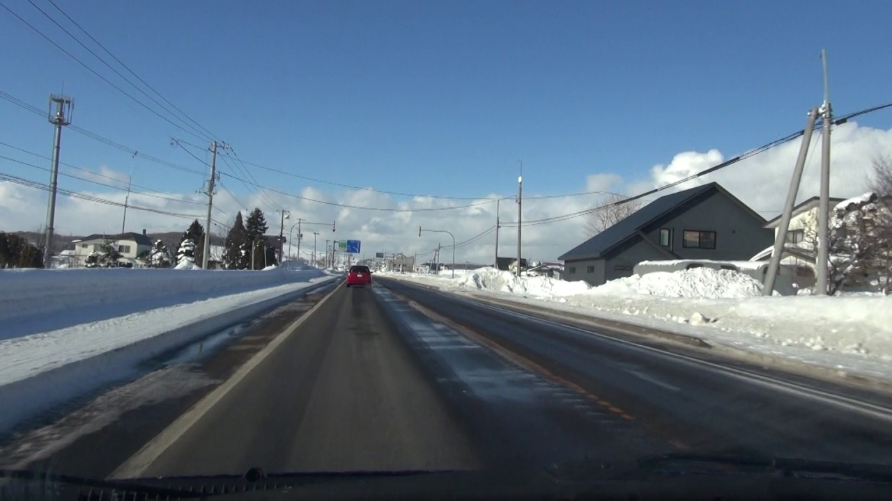 国道233号(2016冬):国道12号...