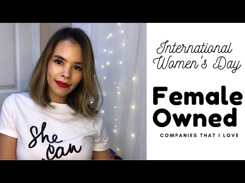 Female Owned Companies I Love!