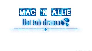 Hot Tub Drama 😐