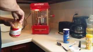 OLD FASHION POP CORN MAKER  Nostalgia KPM200 Electrics Kettle Popcorn Popper