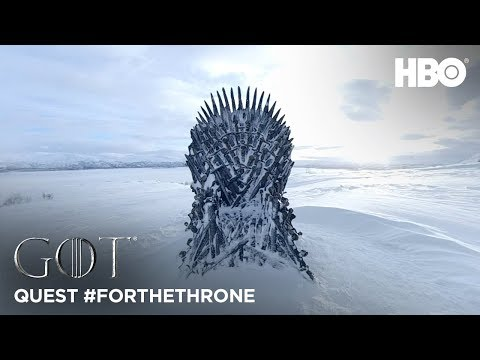 """Someone found the first of HBO's hidden Iron Thronesu2014the next one is in """"the North"""""""