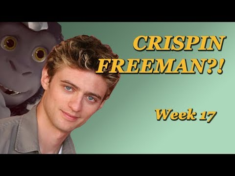 CRISPIN FREEMAN VOICE ACTING CLASS - Week 17