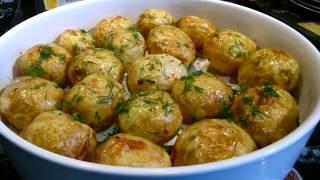 Картофель запечённый в микроволновке / Быстро, легко и очень вкусно