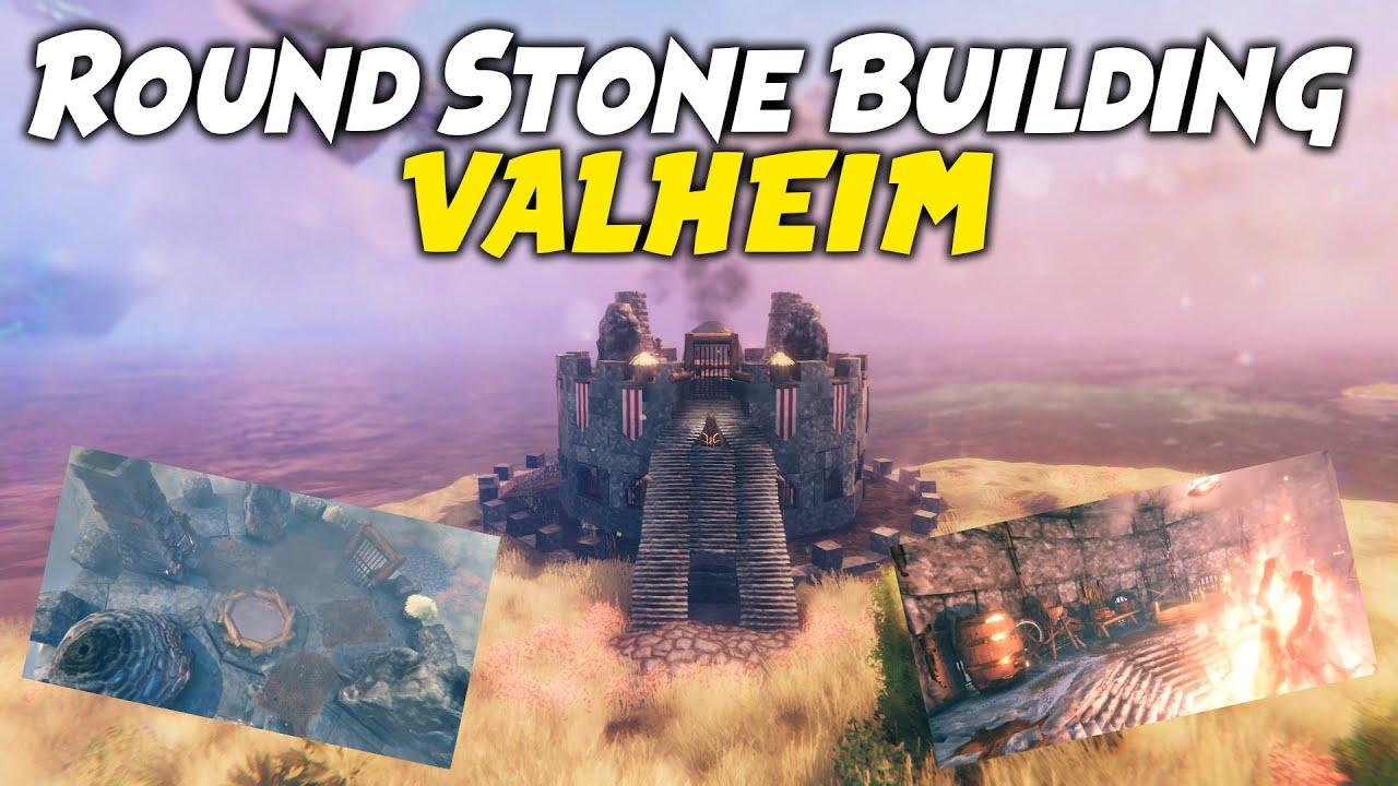 Download Round Stone Building   Valheim