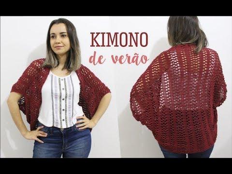 08f2678ad KIMONO DE VERÃO | TRICÔ - YouTube