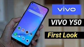 Vivo Y50 8GB RAM + 128GB Storage 5000mAH Battery | Quad Camera Setup Full Specifications