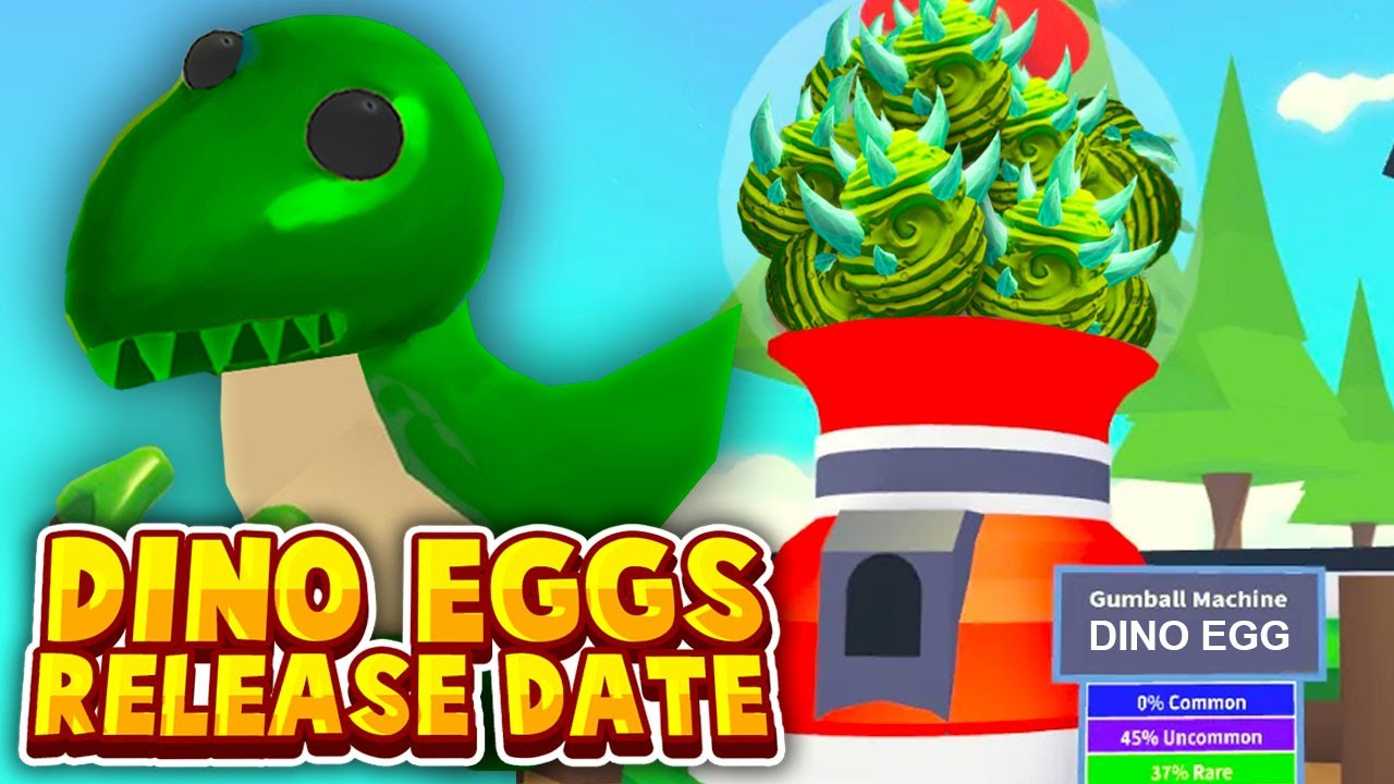 Adopt Me Dino Egg Release Date Adopt Me New Dinosaur Update Countdown Roblox Adopt Me News Youtube