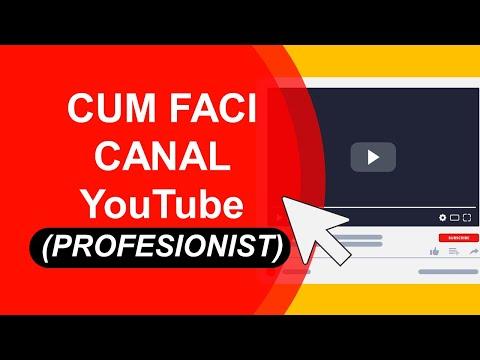 Cum faci canal de Youtube   Canal de youtube profesionist pentru business-ul tau